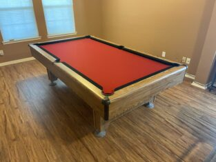 pool table assembly houston tx